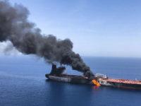AS Resmi Tuding Iran Terlibat Serangan ke Kapal Tanker di Selat Oman