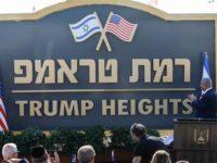 Netanyahu Resmikan Pemukiman Ilegal Bernama 'Dataran Tinggi Trump'