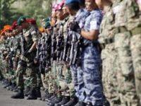 Tentara Indonesia-Malaysia Latihan Bersama Penanggulangan Terorisme