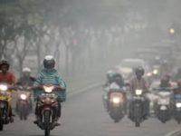 Karhutla Akibatkan Kabut Asap di Pekanbaru