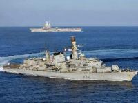 Inggris Kerahkan Kapal Perang Ketiga ke Teluk Persia