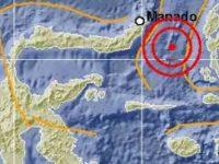 BMKG Rekam 87 Gempa Susulan Pascagempa Utama Ternate Minggu