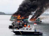 Sejak Oktober 2014, KKP Telah Tenggelamkan 516 Kapal Ilegal