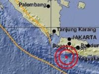 Senin Kemarin, Tiga Gempa Guncang Sukabumi