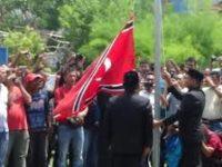 Polda Aceh Selidiki Penggantian Pengibaran Bendera Merah Putih Jadi Bendera Bulan Bintang