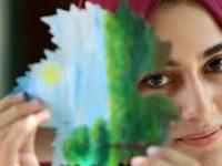 Ini Cara Seniman Gaza Melukis Demi Hapus Stres Psikologis