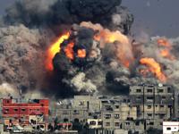 Potret kehancuran yang disebabkan oleh agresi militer Israel ke Jalur Gaza. Sumber: Common Dreams