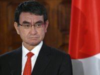 Menteri Pertahanan Jepang, Taro Kono. Sumber: Sputnik