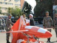 """Iran Pamerkan """"Keyan"""", Drone Tempur Baru untuk Jarak Jauh"""