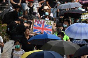 Demonstran Hong Kong Mintai Bantuan Intervensi Inggris