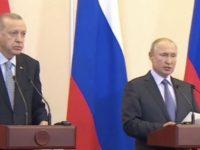 Rusia dan Turki Sepakat Akhiri Konflik di Perbatasan Suriah