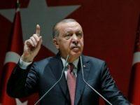 Erdogan: Demo di Irak Bisa Jadi Merembet ke Iran