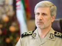 Menteri pertahanan Iran, Brigadir Jenderal Amir Hatami. Sumber: Presstv