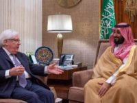 Utusan Khusus PBB untuk Yaman Adakan Pertemuan dengan Putra Mahkota Saudi